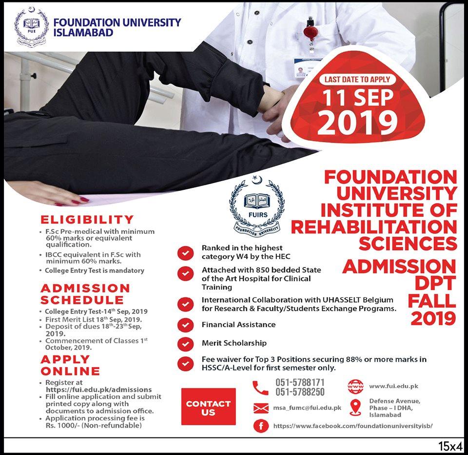 Home | Foundation University Islamabad